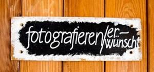 fotgrafieren, Fotograf, Fotos, typo, Schild
