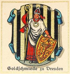 Symbol der Goldschmied, Wappen
