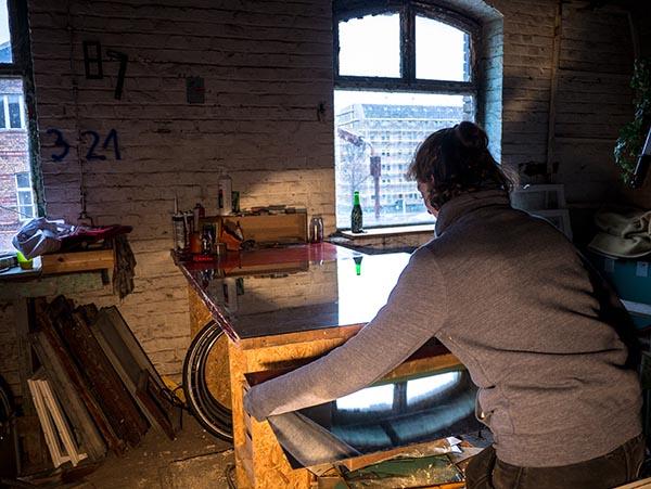 Werkstatt, Arbeit, Spiegel