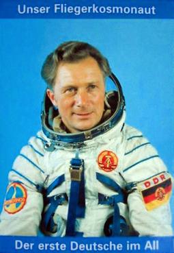 Astronaut, Kosmonaut, DDR, Sigmund Jähn, Fliegerkosmonaut