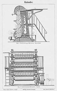 Kalander, Papiermaschine, Papierhersteller