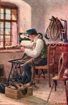 Sattler, Handwerk, Werkstatt