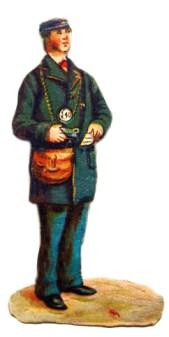Glanzbild Schaffner