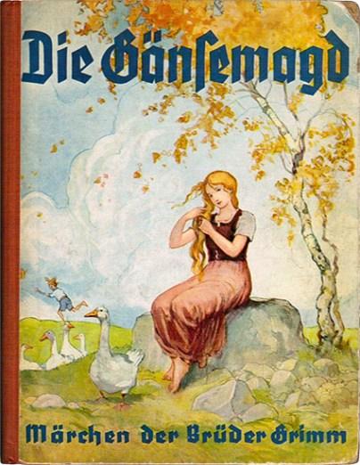 Gänsemagd, Grimms Märchen