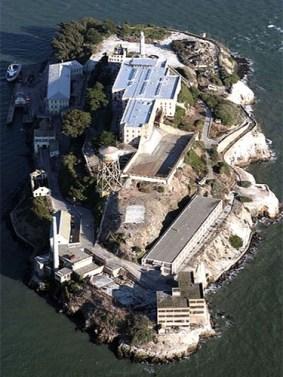 Gefängnis, Gefängnisinsel, USA, Alcatraz