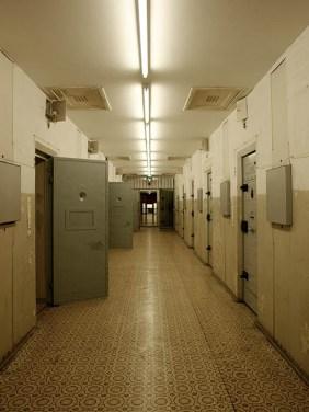 Stasi-Gefängnis, Hohenschönhausen, Gefängnis, Gefängnisflur
