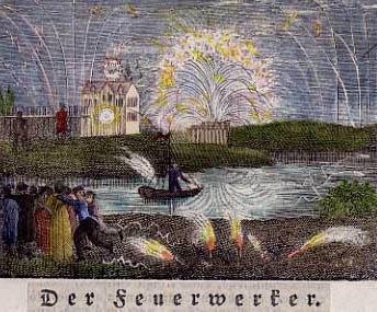 Feuerwerker, Pyrotechniker, Feuerwerk