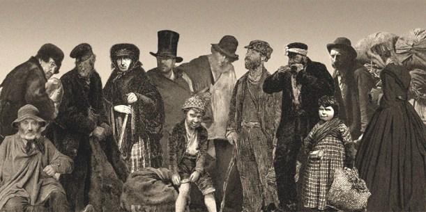 Montagebild - um 1900