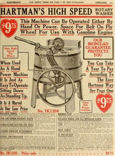 amerikanischer Katalog für u.a. Waschmaschinen