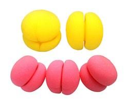 Farbfoto: kugelförmige Schwammwickler