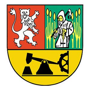 Stadtwappen mit Eisenhammer