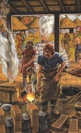 Buchillustration Männer schmelzen