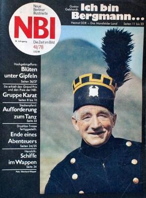 Magazincover: Titelbild: ein Steiger