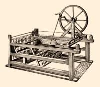 Kupferstich: grafische Darstellung der Maschine - um 1760