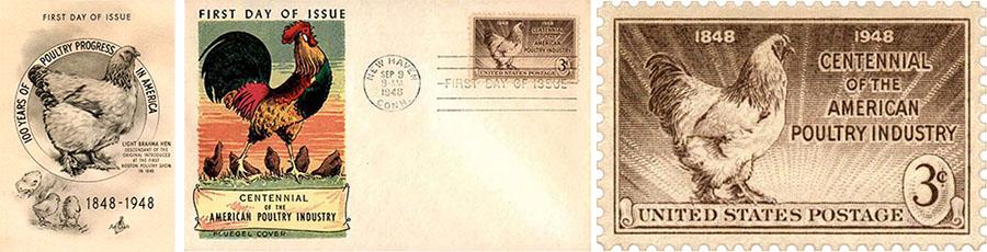 Sonderdrucke: Hundertjahrfeier der Geflügel-Industrie - 1948, USA