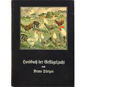 Buchcover: Bruno Dürigen 'Handbuch der Geflügelzucht' - 1910