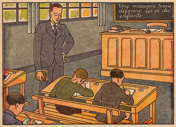 illu: im Klassenzimmer