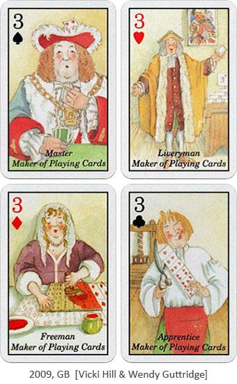 4 Spielkarten: Spielkartenmacher - 2009, GB