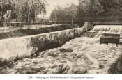 sw Fotopostkarte: Aalfang am Mühlenkanal in Königswusterhausen - 1937