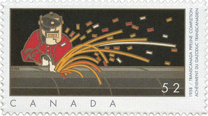 Briefmarke: Schweißer - 2008, Canada