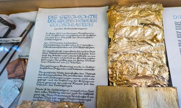 Infos zur Goldschlägerei