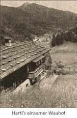 sw Foto: Blick auf Hatels einsamen Wauhof - 1957, Bayern