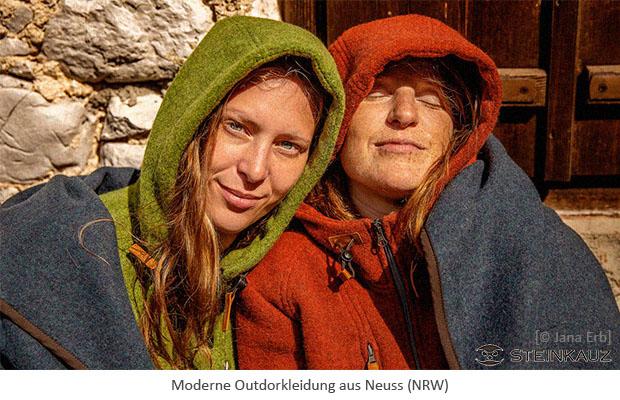 Farbfoto: moderne Outdoorkleidung von 'Steinkauz' aus Neuss - 2019, NRW
