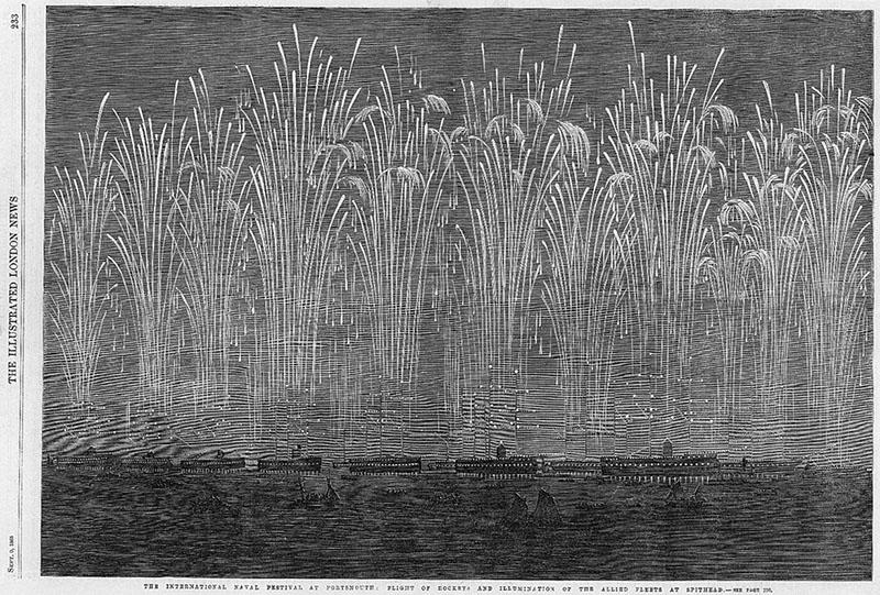 Zeitungsbild: Meeresfeuerwerk