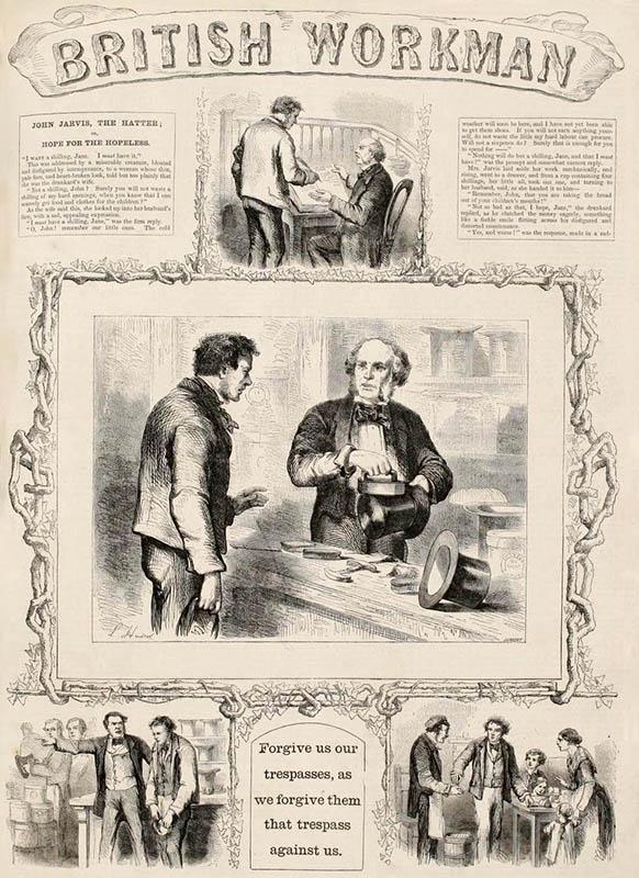 alter englischer Zeitungsartikel