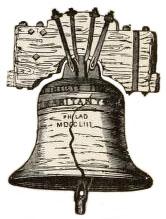 Zeichnung: mittelgroße Glocke