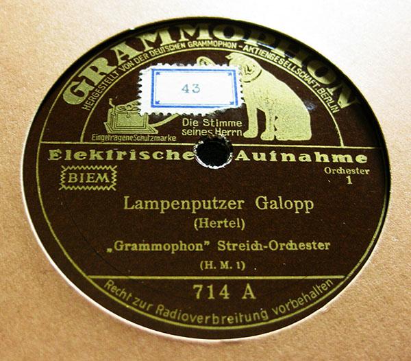 alte Grammophonplatte
