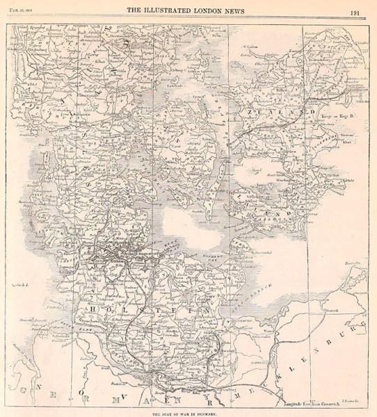 alte Karte monochrom