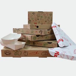 Cajas de comida para llevar