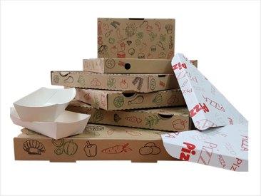 Cajas y envases para pizzas