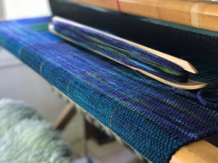 a blanket, merino and BFL