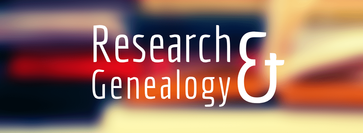Research and Genealogy Resources