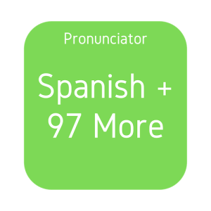 Pronunciator Spanish and 97 More