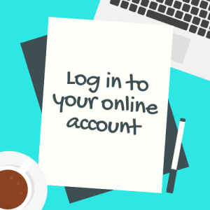 Log in to your Online Account