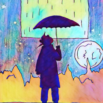 """Rain Carrier"" - Jose, Senior, Morton East"