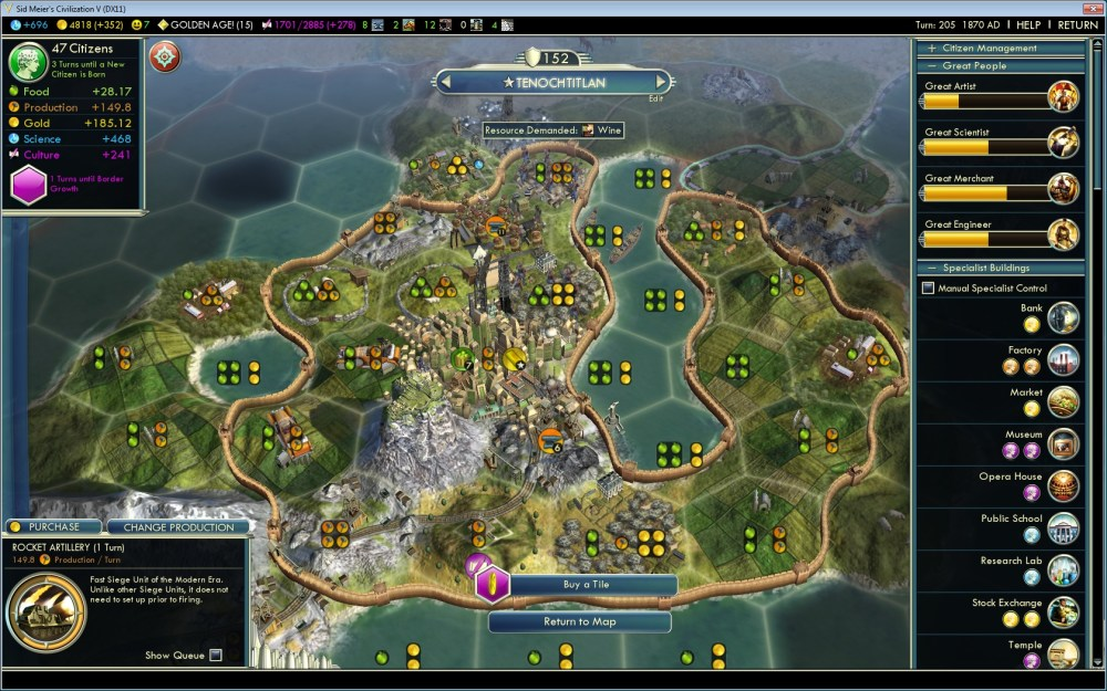 Civ 5. New Replay option available (2/2)