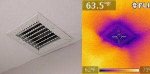 Leaking AC Vent