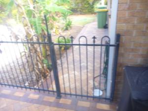 Non-compliant Pool Gate