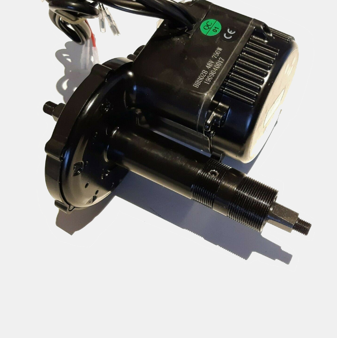 motor with wires