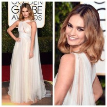 Lily James - Marchesa