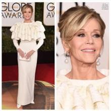 Jane Fonda - Saint Laurent Couture