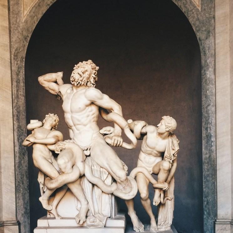 vatikanmusum Vatikan Skulptur kunst laokoon