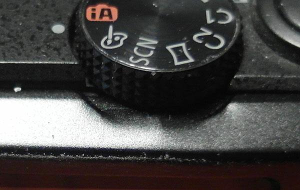 Sat on my Panasonic 2 Dent