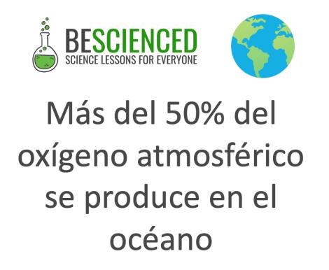 que produce oxigeno que respiramos atmosfera oceano fitoplancton