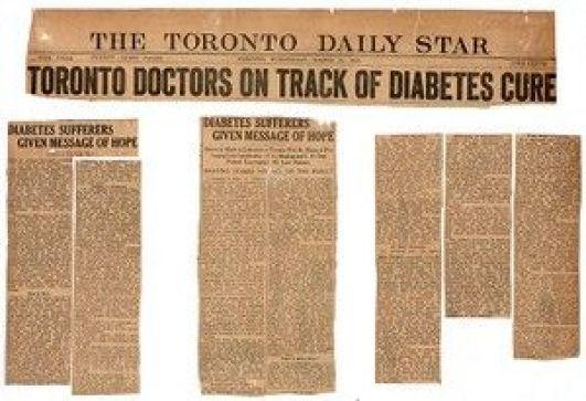 cura diabetes descubrimiento insulina