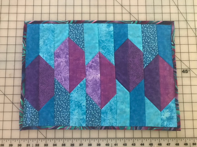 Quilted Abstract Placemat